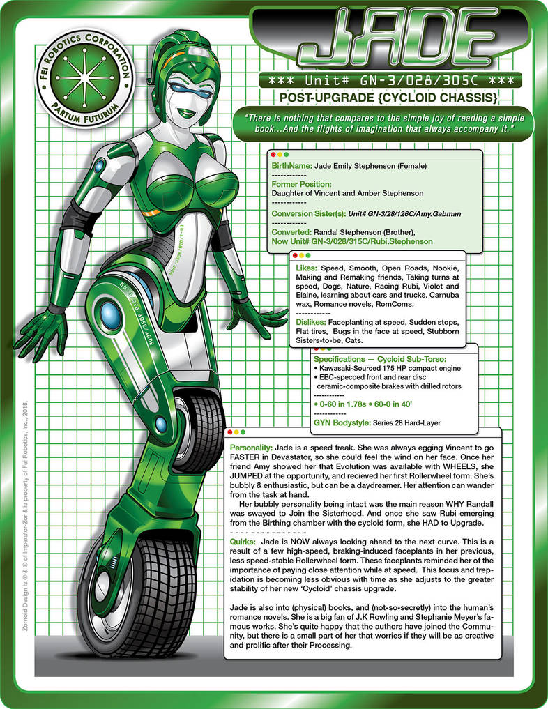 JADE (v002) - Cycloid Tech Specs by laughingvulcan