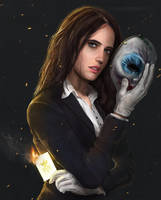 Eva Green As Clover Payday Movie Concept by twister55555