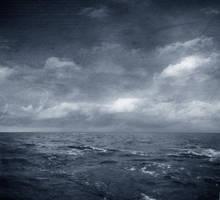 Dark Stormy Sea I by lilydust