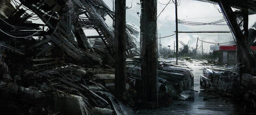 Tornado aftermath by leventep