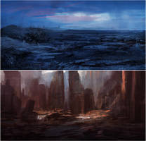 quick landscapes by leventep