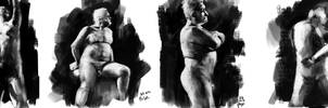 lifedrawing poses by leventep