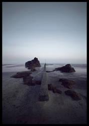 Beach scene by leventep