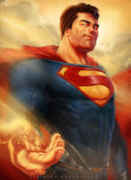 Superman by vinnybortoletto
