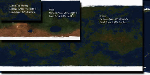 Terraformed Map Collage by Ittiz