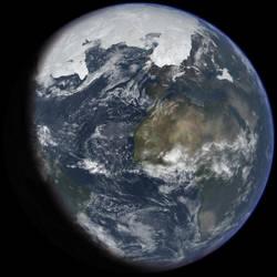 Ice Age Earth by Ittiz