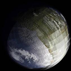 Paraterraformed Phobos by Ittiz