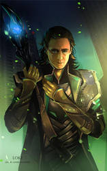 Loki by sheer-madness