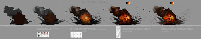 explosion -  tutorial by sheer-madness