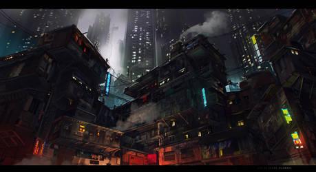 slum by sheer-madness