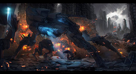 mecha by sheer-madness