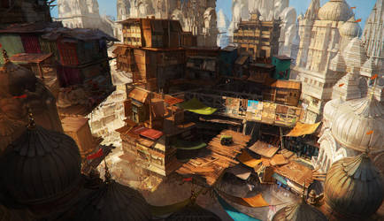 Ind slums by sheer-madness