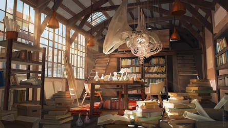 laboratory by sheer-madness
