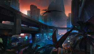 city lights by sheer-madness