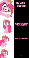 Pinkie and Tank Say Goodnight by Undead-Niklos