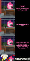 Pinkie Says Goodnight - Surprise Guest by Undead-Niklos
