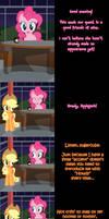 Pinkie Says Goodnight - Applejack's Apple, Jack. by Undead-Niklos