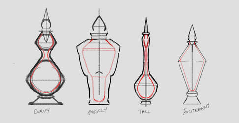 Potion concepts by toyas-world