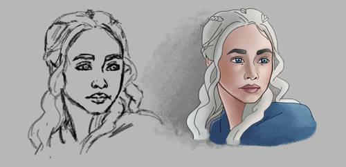 daenerys targaryen by toyas-world