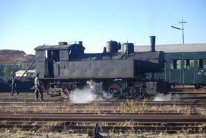 Asmaran Steam Engine by moonhare77