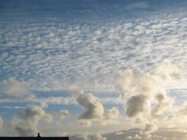 Clouds - 1 by moonhare77