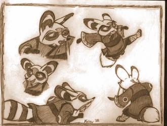 Master Shifu Doodle Dump by Kelev
