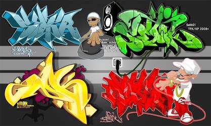 TFK_Hiphop Collab 2008 by Setik01