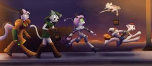 DreamKeepers Halloween 2013 by Deecio