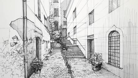 The Spain Street View by DerBaku