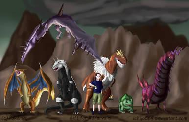 Arvalis birthday's gift No 1 - His Pokemon Team by Ichijo564