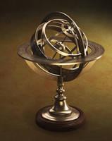 Armillary Sphere by WormDog1