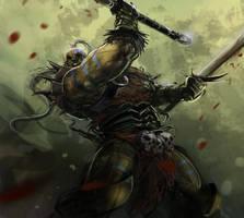 Barbarian by rodimus25
