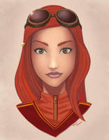Ginny Weasley Color by duendefranco