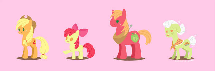 Apple family! by volvolvox
