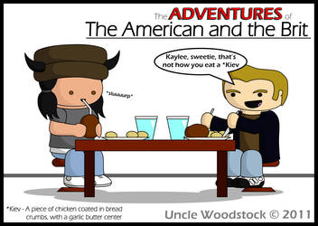 The American and the Brit by UncleWoodstock