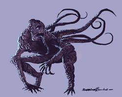 Cameleont creature by Furgur
