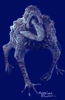 Toadlike creature by Furgur