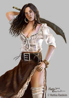 Pirate Lady by Furgur