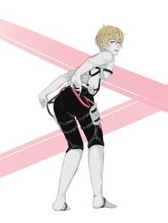 Shingeki no Free! Nagisa by minibru