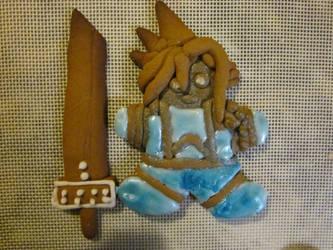 Cookie Cloud  -Gingerbread Strife- by omnislash083