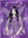 Forgotten Purple Fairy by jvartiste