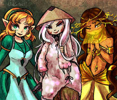 Witches by Linkerbell