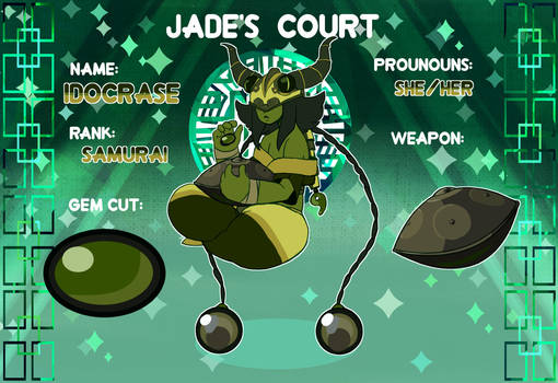 Jade's Court- Idocrase by Linkerbell