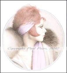 Clara Bow: Opus V by Artman2112