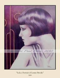 LuLu:Portrait of Louise Brooks by Artman2112