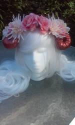Sweet Horned Crown by littlebitakit