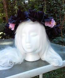 Bubblegum Demon Crown by littlebitakit