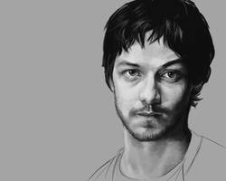 James McAvoy by therealferret