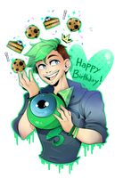 Jacksepticeye Birthday!!! by DarkMagic-Sweetheart