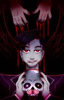 Darkiplier: Fallen Angel by DarkMagic-Sweetheart